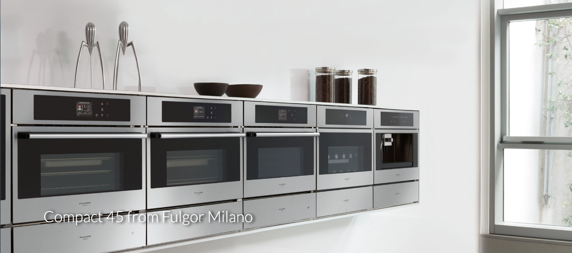 Compact 45 from Fulgor Milano